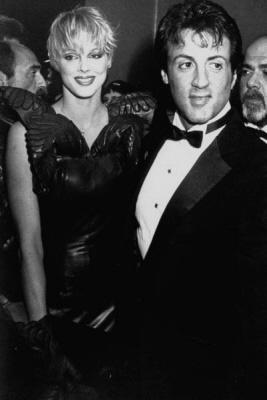 Brigitte Nielson & Sylvester Stallone