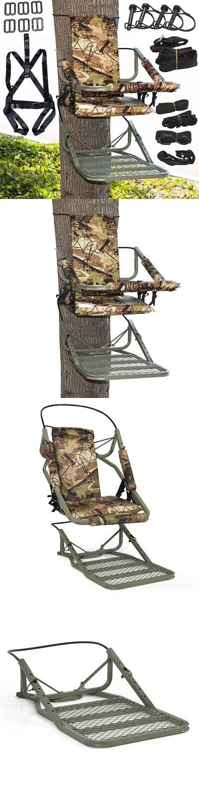 Tree Stands 52508: Tree Stand Climber Climbing Hunting Deer Bow Game Hunt Portable W Back Harness -> BUY IT NOW ONLY: $69.97 on eBay!