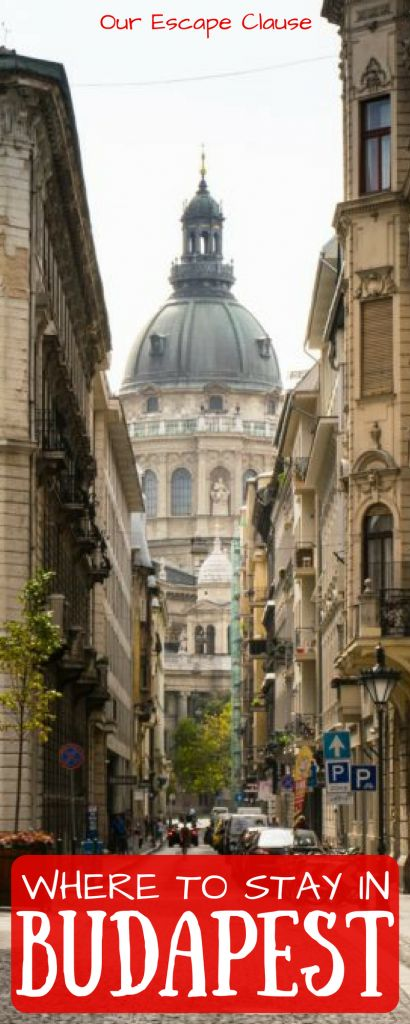 Buda or Pest: what side of the river is the best place to stay in Budapest for you! Compare and contrast your options here. #budapest #hungary #travelhacks