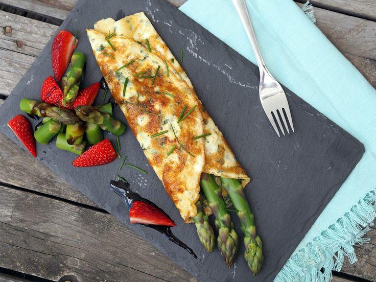 Chřestová omeleta
