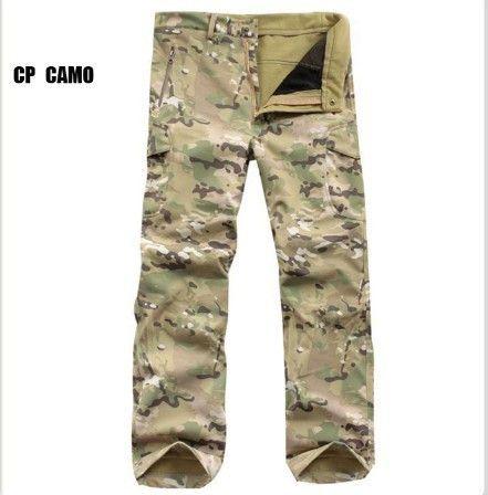 Men's TAD Fashion Casual Waterproof Windproof Winter Military Camouflage Outwear Jacket