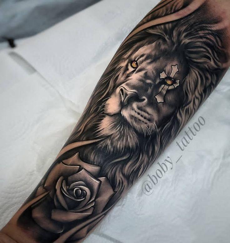 Männer löwe tattoo unterarm 42+ Wahrheiten