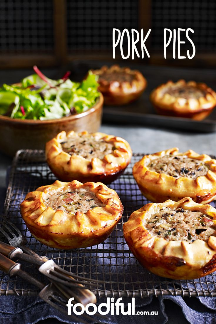 The little pie packages not only look quite impressive, they taste it too! With onion, mushrooms, bacon, garlic and pork mince, they are stuffed to their brim with deliciousness. This recipe makes 6 and takes 1 hr and 20 mins.