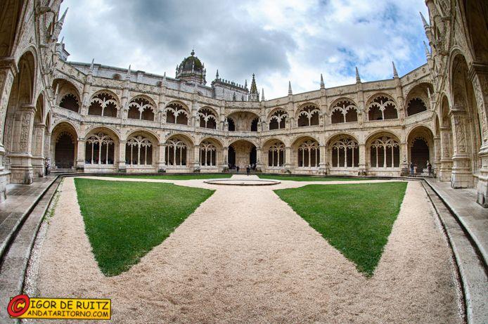 Belem (Lisbona) - Mosteiro dos Jeronimos.