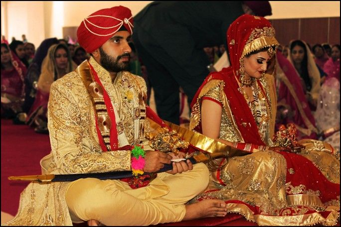Traditional Sikh Wedding Dress