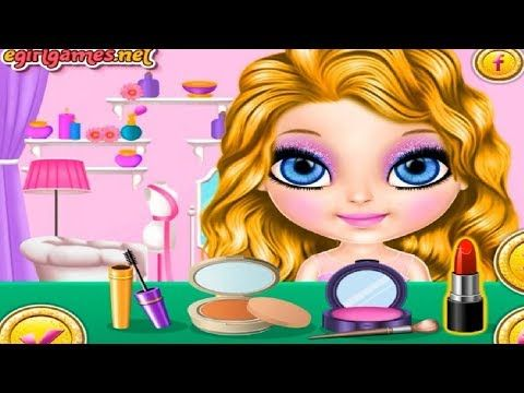 Barbie Lady In Red Barbie Makeup And Dress Up Games For Girls - YouTube