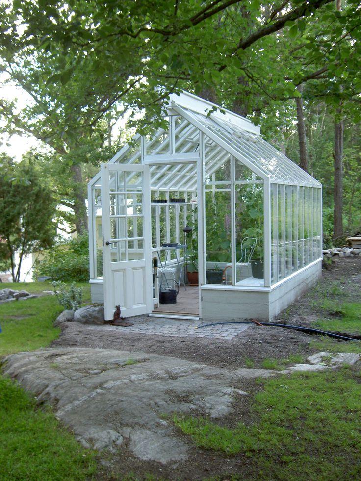 Växthus & orangeri med sadeltak - swedengreenhouse
