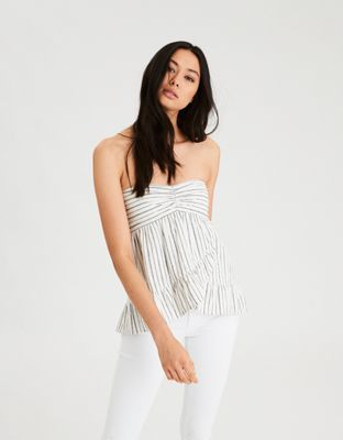 d492d1eb0c2 AE Striped Tube Top by American Eagle Outfitters