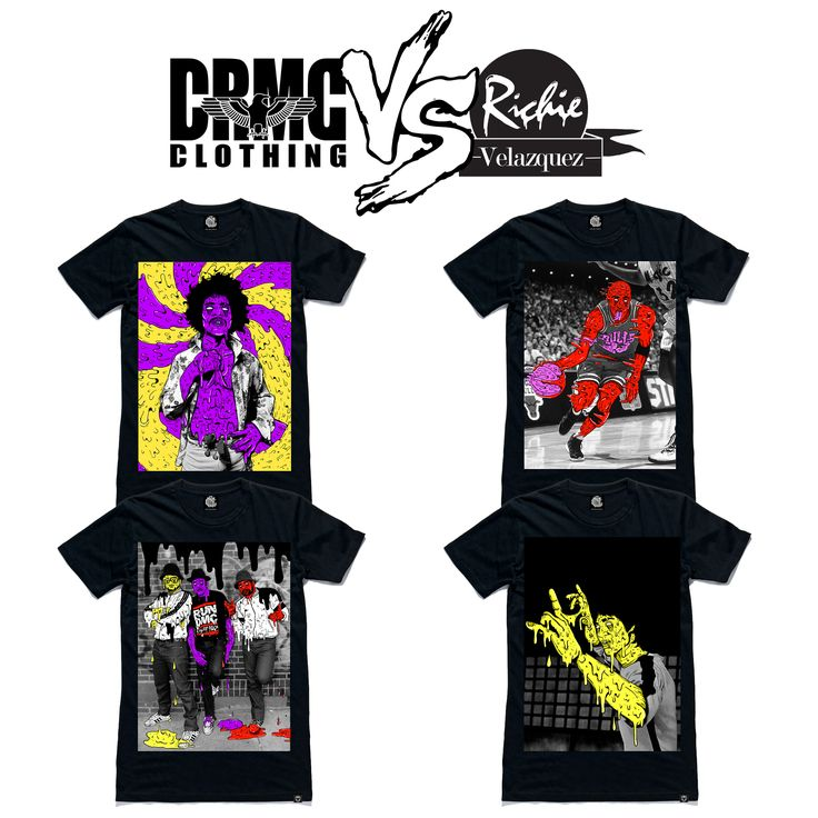 "CRMC X Deladeso Tees From top left; ""Purple Grime"" Tee ""Air Grime"" Tee ""It's Grimey"" Tee ""Game Of Grime"" Tee. #michaeljordan #airjordan #airjordan #hiphop #hiphopart #hiphopculture #hiphophead #grime #grimeart #grimeartist #grimey #grime_nation #jimihendrix #nba #purplehaze #dope #lit #deladeso #rundmc #itstricky #brucelee #fashion #alternative #streetwear"