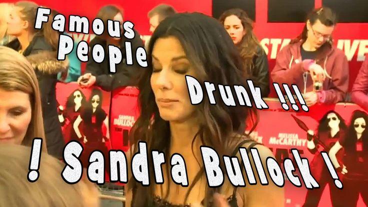 Sandra Bullock Drunk!  Sandra Bullock on the Heat!