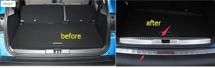 Accessories For Renault Captur 2014 2015 2016 Trunk Door Rear