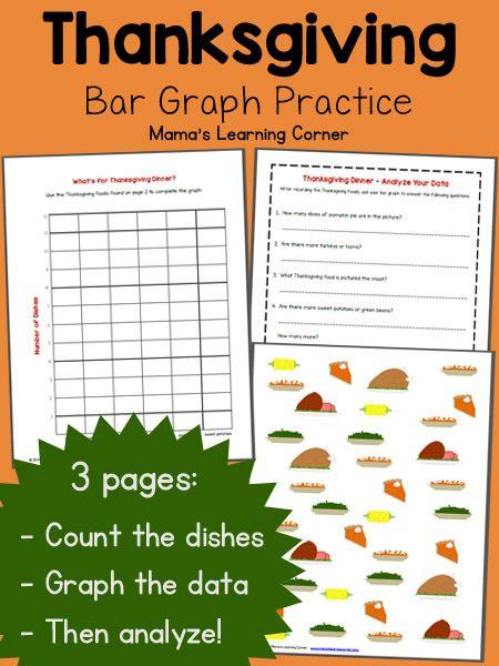 bar graph worksheet thanksgiving thanksgiving 2nd grades and bar graphs. Black Bedroom Furniture Sets. Home Design Ideas