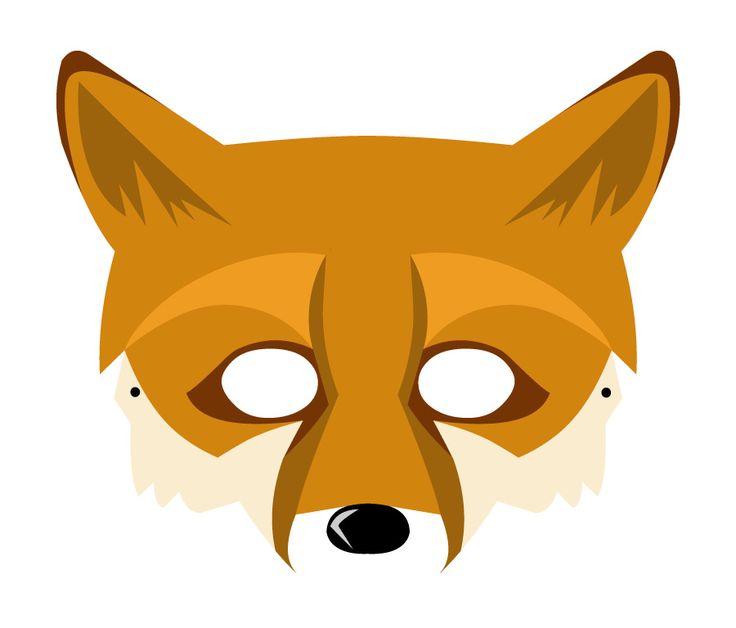 #Lactease ti regala gli animali del bosco!  Stampa e ritaglia la VOLPE! :-) --->  http://ow.ly/Jk0GL  #maschera #carnevale