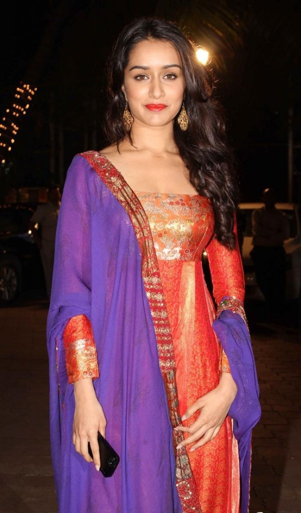 Shraddha Kapoor at mohit udita wedding ceremony