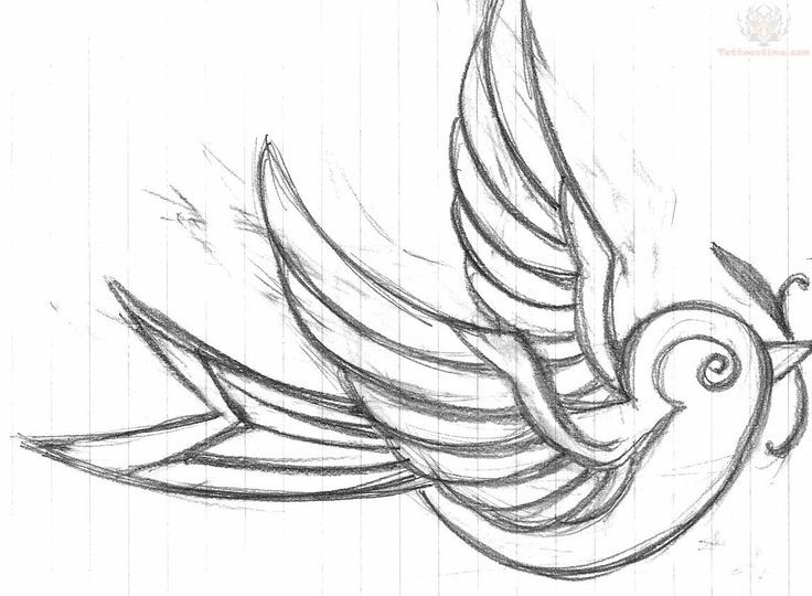 Draw Pattern Cool Easy Art Designs To Draw With Images Swallow Tattoo Design Swallow Tattoo Tattoo Drawings