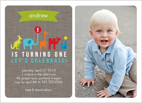 73 best First Birthday Party images – Shutterfly Birthday Invites