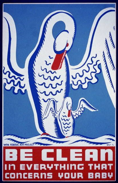 Be clean in everything that concerns your baby. WPA poster from the Library of Congress.Cleanses, Cleaning, Picture-Black Posters, Posters Promotion, Wpa Posters, Vintage Wardrobe, People Art, Posters Art, Wpa Awesome