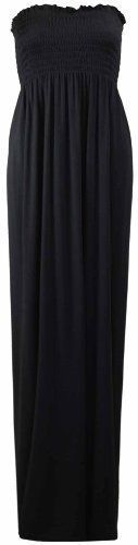 New Trending Formal Dresses: PurpleHanger Womens Boob Tube Bandeau Strapless Maxi Dress Black 8-10. PurpleHanger Women's Boob Tube Bandeau Strapless Maxi Dress Black 8-10  Special Offer: $5.08  266 Reviews Ladies new boob tube maxi dress. Standard stretch fit. Elasticated ruched strapless bodice. Plain long straight skirt. Length underarm to hem 51″. Bandeau long maxi...