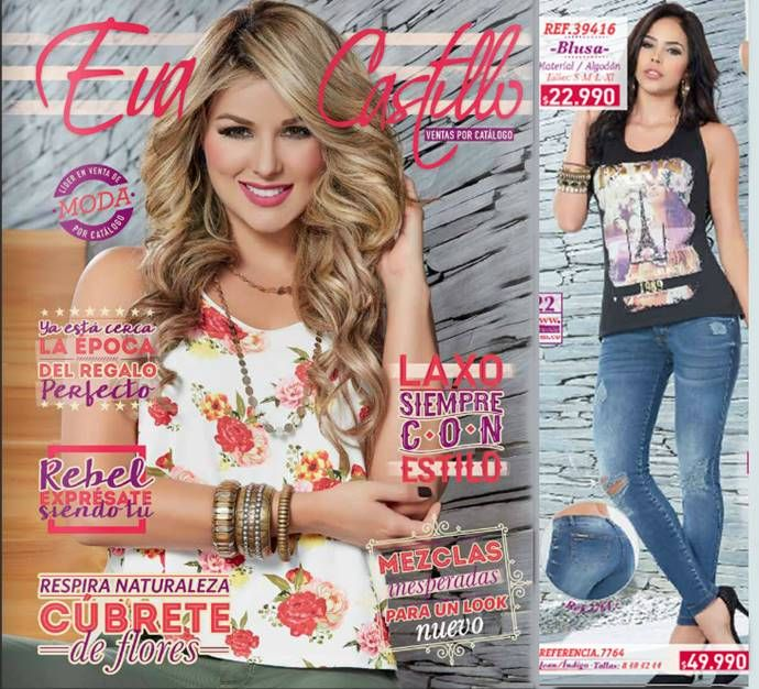 Eva Castillo Catalogo Septiembre Octubre 2015