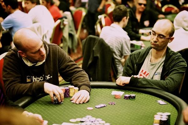 #WPODublin - fritzlm pousse son tapis. #poker