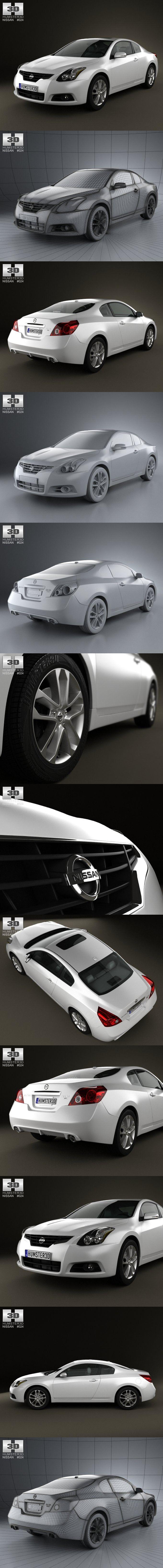 Nissan Altima coupe 2012. 3D Vehicles