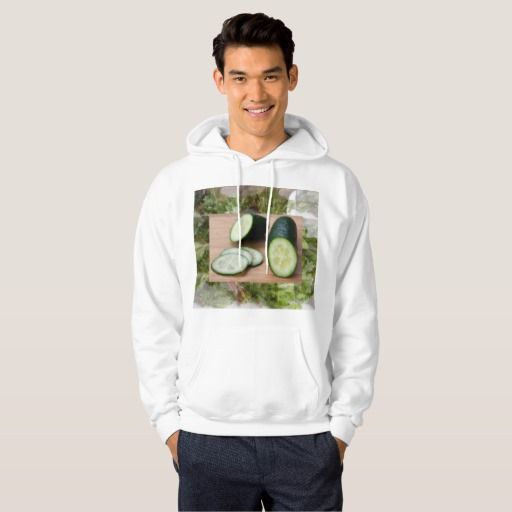 Chef Kitchen Cuisine Cucumber Flavor Veggie Recipe Hooded Sweatshirt