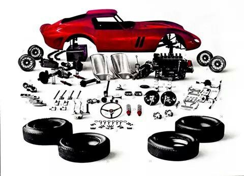 of molded parts as wheels clear is matte s white window fujimi in ferrari the shop interior model body with and rick kit chassis chrome kits windshield sleek