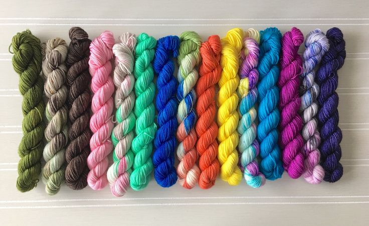 A personal favorite from my Etsy shop https://www.etsy.com/ca/listing/512808406/mini-skein-lovers-kit