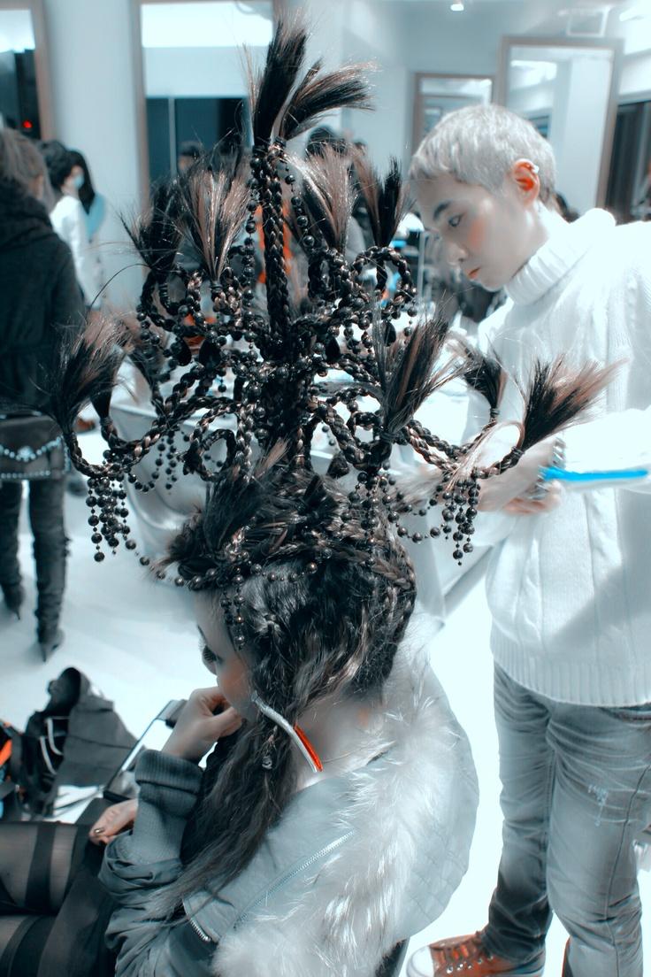 Chandelier headdress-2