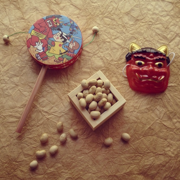 Japanese bean-scattering ceremony -Setsubun-: photo by yocca, via Flickr