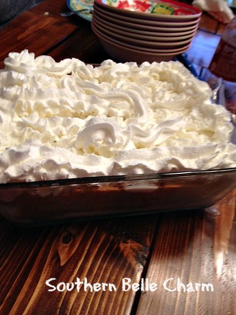 Banana Pudding made with Lorna Doone cookies instead of Vanilla Wafers