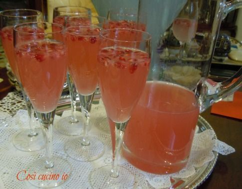 aperitivo al melograno (ricetta portafortuna)