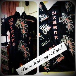 Seragam batik tulis solo kalinggo batik DBtrans wasena