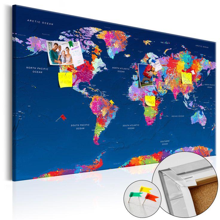Votre intérieur est à 2 doigts de vous remercier  ---------------------------------------------------------------------  Tableau en liège World Map: Artistic Fantasy  à 74,36€  sur https://www.recollection.fr/tableaux-cartes-du-monde/13212-tableau-en-liege-world-map-artistic-fantasy.html  #Cartes du monde #mobilier #deco #Artgeist #recollection #decointerior #interiordesign #design #home  ---------------------------------------------------------------------  Mobilier design et décoration…