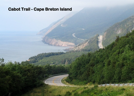 Along the Cabot Trail on Cape Breton Island, North Sydney, Canada