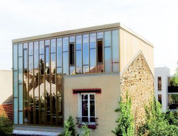 Surélévation bois - maison individuelle à Montreuil