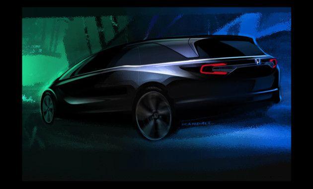 Карельские вести Honda покажет в Детройте новый минивэн Авто