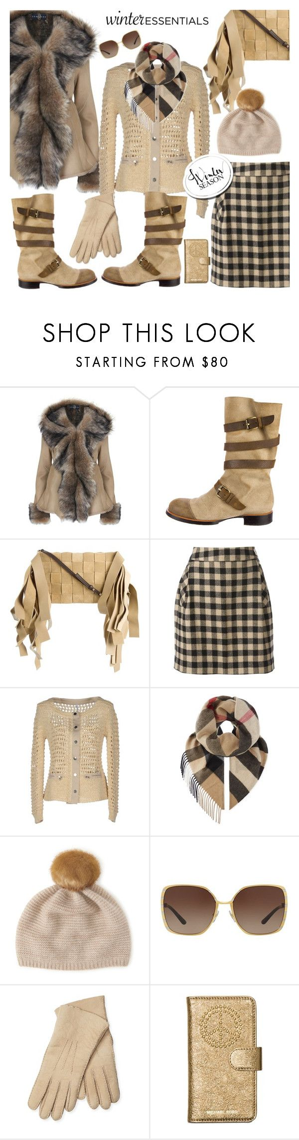 """Winter style"" by hani-bgd ❤ liked on Polyvore featuring Chanel, Loewe, Woolrich, Pianurastudio, Burberry, Henri Bendel, Tory Burch, Maison Fabre, Michael Kors and Winter"