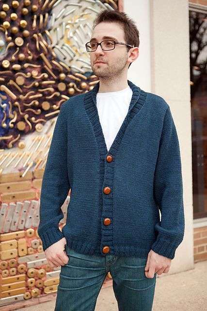 Ravelry: Steve McQueen Weekend Cardigan pattern by Karida Collins