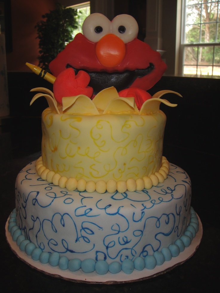 1000 Images About Cakes Sesame Street On Pinterest