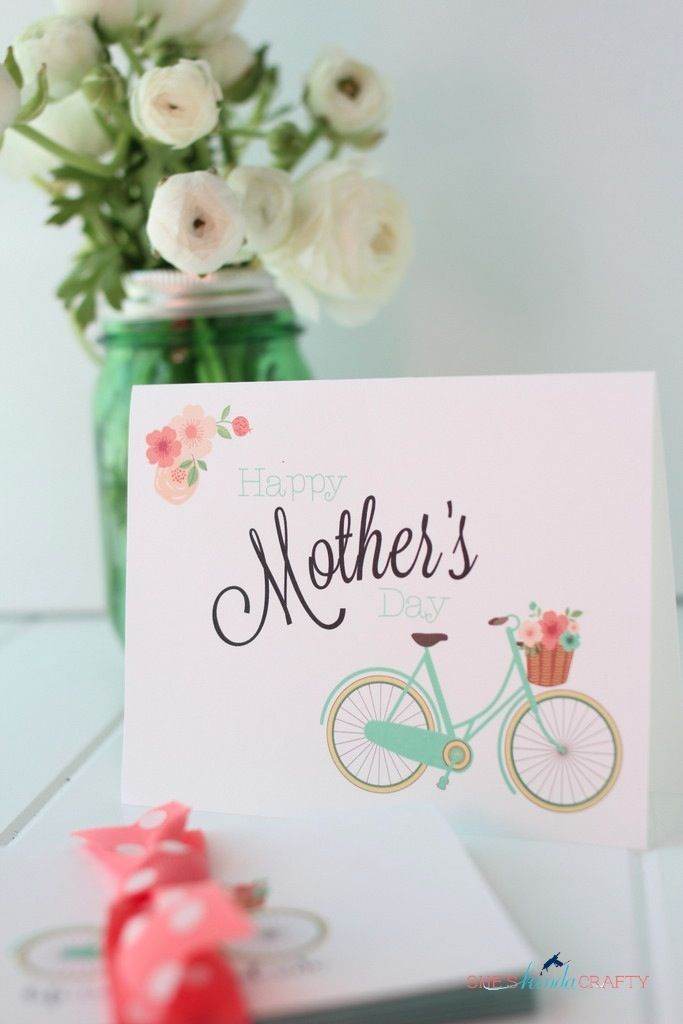 Free Mother's Day Card and Stationary