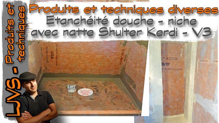 Douche à l'italienne -Étanchéité compléte SHLUTER KERDI - Vidéo 3 - FR -...