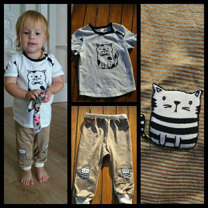Tsirt and pants