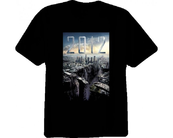 2012 MOVIE EPIC END OF THE WORLD Tshirt