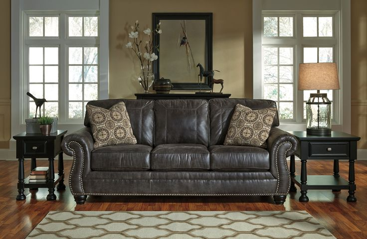 Living Room Sofa: Breville Sofa by Ashley Furniture at Kensington Furniture. Great couch for a modern living room!