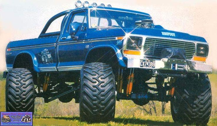 I loved monster trucks when I was a kid! Bigfoot- The original 4x4 monster truck