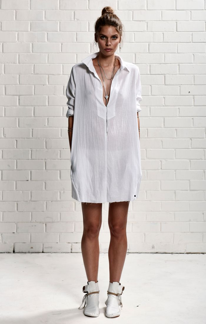 oneteaspoon - Le Pure Dress White