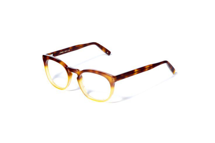 L.G.R optical Mod. CONGO havana ambra