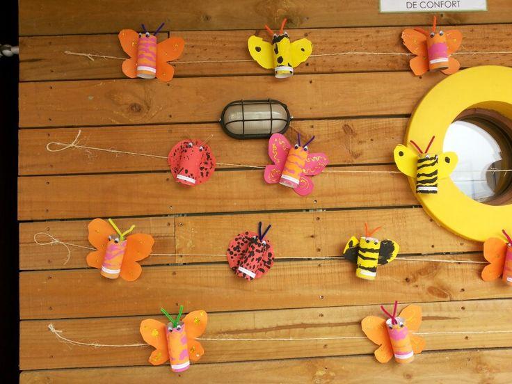 Insectos con conos de confort