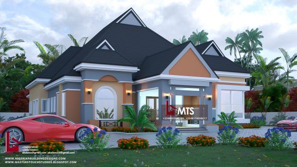 Bungalow Designs In Nigeria 4 Bedroom Bungalow House Design In Nigeria House Plan Gallery Bungalow Style House Bungalow Pictures